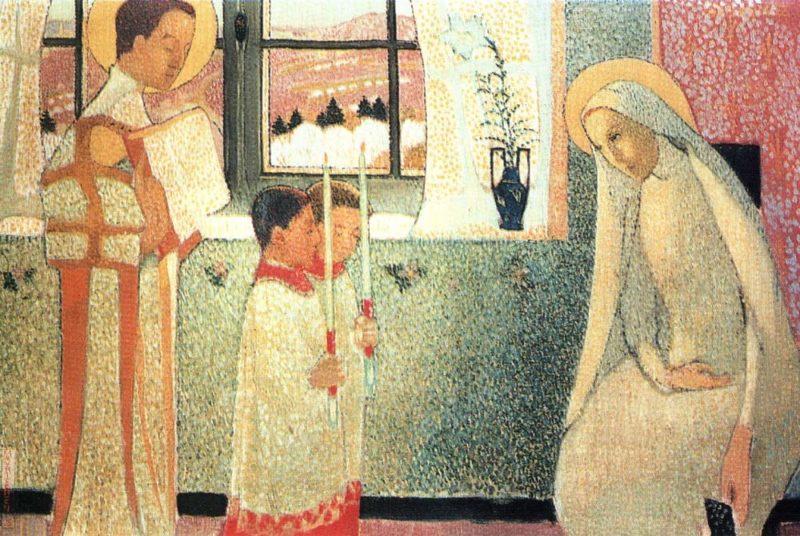 Catholic Mystery   Maurice Denis   oil painting