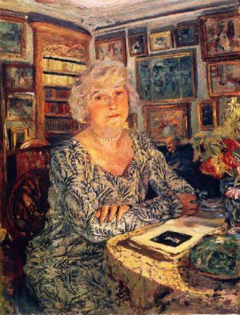 Lucy Hessel Reading | Edouard Vuillard | oil painting