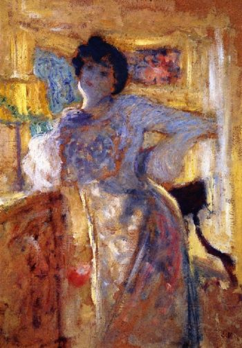 Madame Hessel | Edouard Vuillard | oil painting