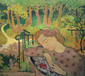Earthly Paradise | Maurice Denis | oil painting