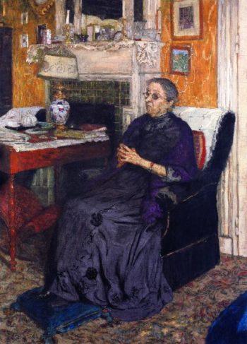 Madame Louis Kapferer | Edouard Vuillard | oil painting