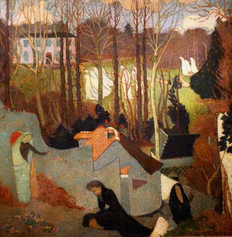 Easter Mystery | Maurice Denis | oil painting
