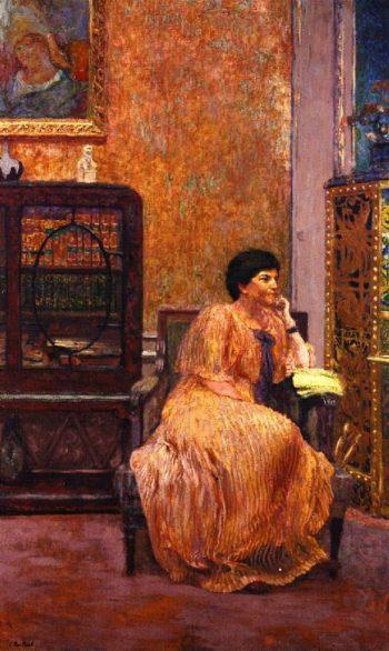 Madame Marcel Kapferer at Home | Edouard Vuillard | oil painting