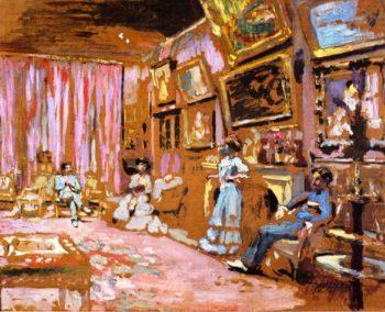 Messieurs and Mesdames Josse and Gaston Bernheim Jeune Avenue Henri Martin | Edouard Vuillard | oil painting