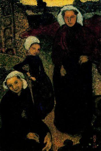 Femmes bretonnes | Maurice Denis | oil painting