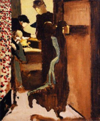 The Drawer   Edouard Vuillard   oil painting