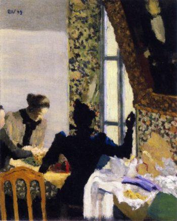 The Length of Thread | Edouard Vuillard | oil painting