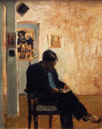 The Reader | Edouard Vuillard | oil painting