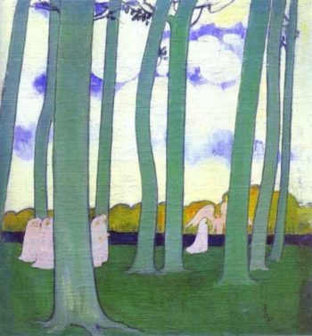 Landscape with Green Trees | Maurice Denis | oil painting