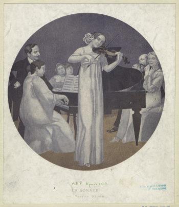 La sonate | Maurice Denis | oil painting