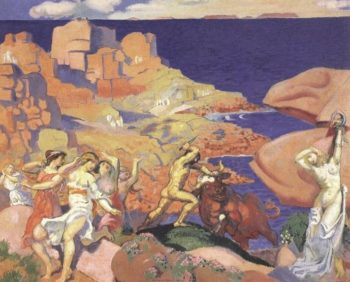 Le Minotaure | Maurice Denis | oil painting
