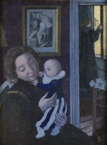 L'enfant au pantalon bleu | Maurice Denis | oil painting