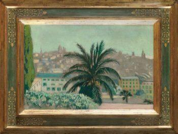 Le palmier | Maurice Denis | oil painting