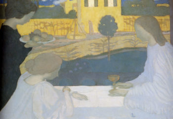 Martha And Mary | Maurice Denis | oil painting