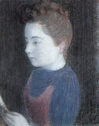 Marthe | Maurice Denis | oil painting