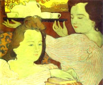 Mystic Allegory | Maurice Denis | oil painting