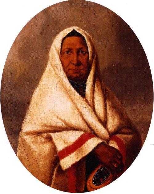 Caughnawaga Indian | Cornelius Krieghoff | oil painting