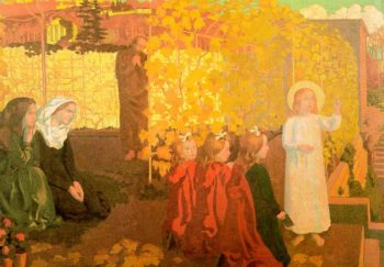 Nazareth | Maurice Denis | oil painting