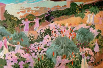 Paradise | Maurice Denis | oil painting