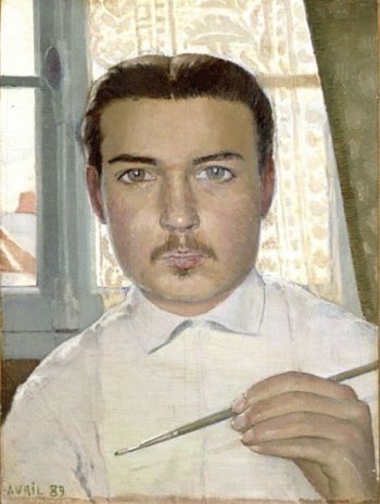 Portrait of the Artist Aged Eighteen | Maurice Denis | oil painting