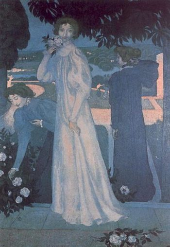 Portrait of Yvonne Lerolle | Maurice Denis | oil painting
