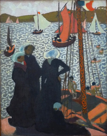 Regatta at Perros Guirec | Maurice Denis | oil painting