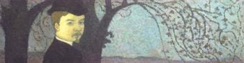 Self Portrait Under The Trees | Maurice Denis | oil painting