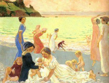 Soir de Septembre | Maurice Denis | oil painting