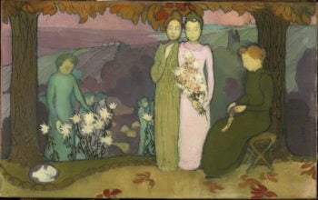 Soir d'octobre | Maurice Denis | oil painting