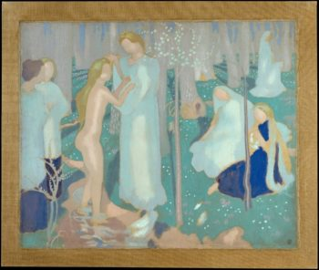 Springtime | Maurice Denis | oil painting