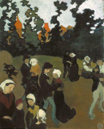 The Breton Dance | Maurice Denis | oil painting