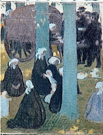 The Cider Bowl | Maurice Denis | oil painting