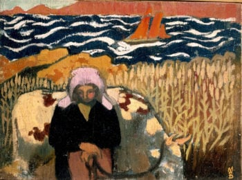 The Cow Girl | Maurice Denis | oil painting