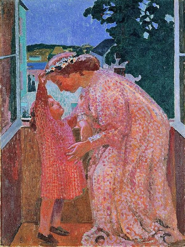 The Crown of Daisies | Maurice Denis | oil painting