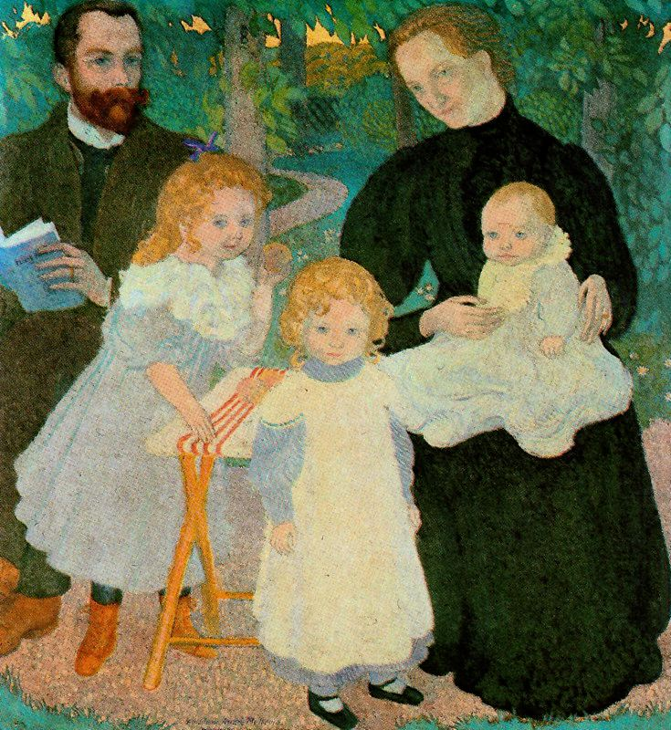 The Mellerio Family | Maurice Denis | oil painting