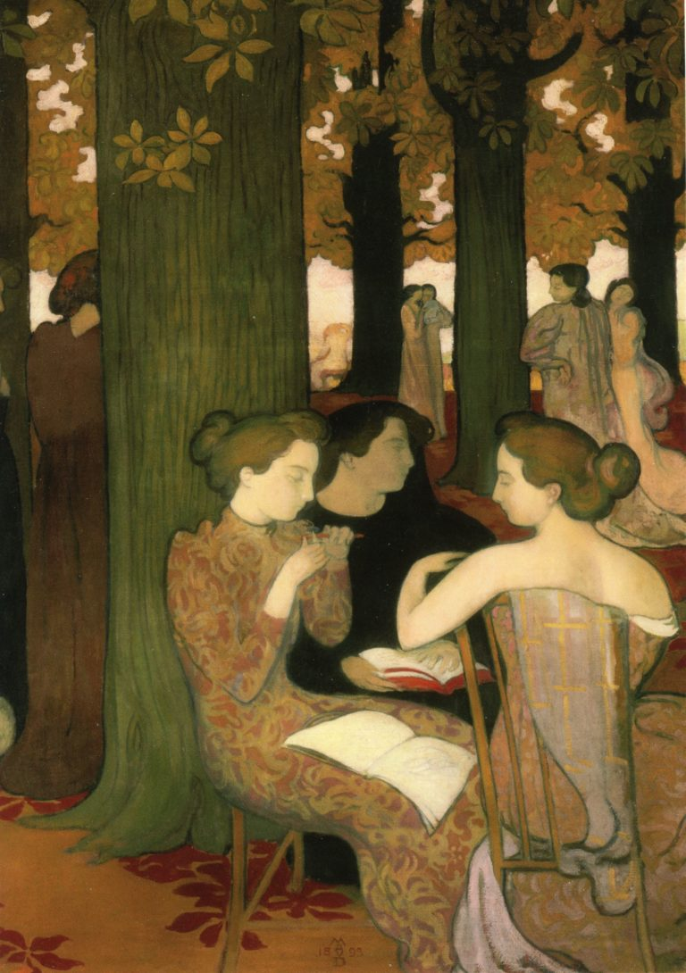 The Muses | Maurice Denis | oil painting