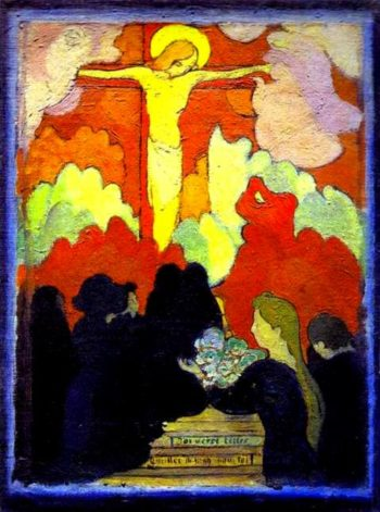 The Offertory at Calvary | Maurice Denis | oil painting