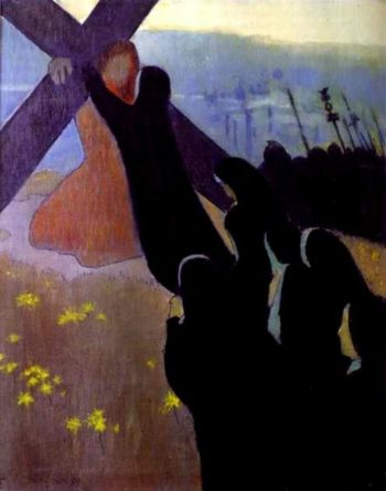 The Road to Calvary | Maurice Denis | oil painting