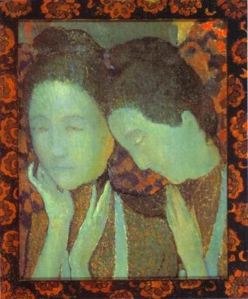 The Two Sisters | Maurice Denis | oil painting