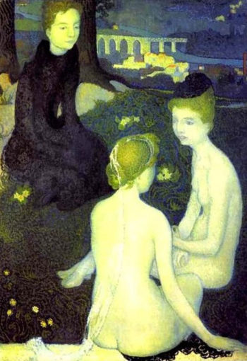 Trinity evening | Maurice Denis | oil painting