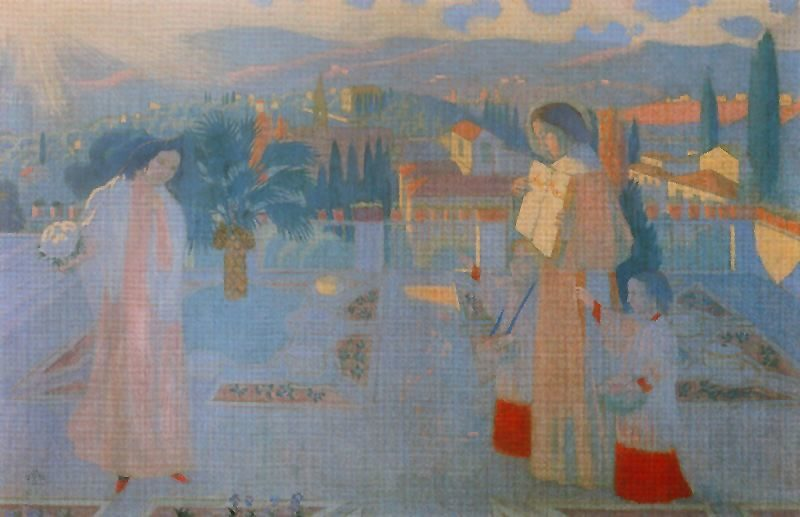 Untitled 1   Maurice Denis   oil painting