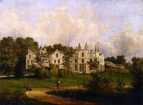Kings Walden Hertfordshire   Cornelius Krieghoff   oil painting