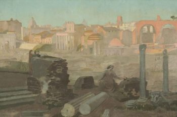 Vue du Forum | Maurice Denis | oil painting