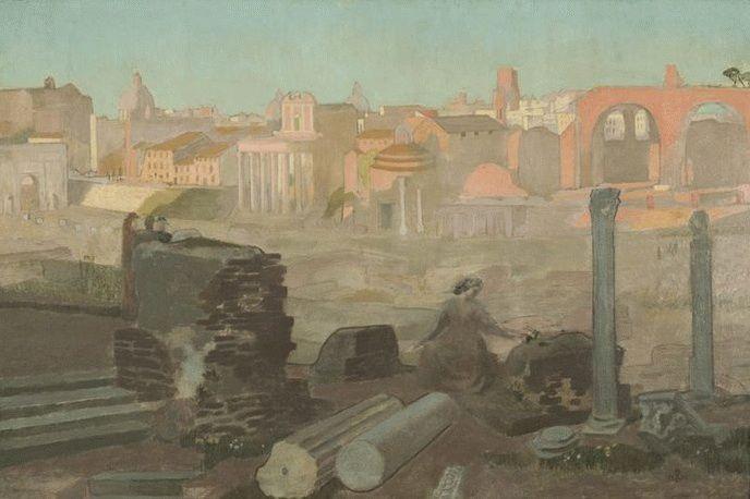 Vue du Forum | Maurice Denis | oil painting