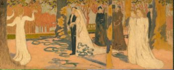 Wedding Procession | Maurice Denis | oil painting