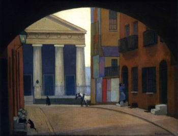 A London Church | Robert Bevan | oil painting