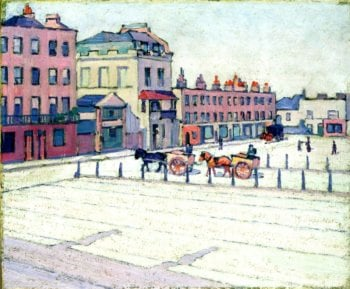 Cumberland Marker North Side | Robert Bevan | oil painting