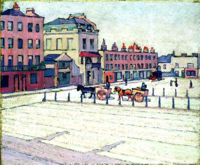 Cumberland Marker North Side | Robert Bevan | oil painting