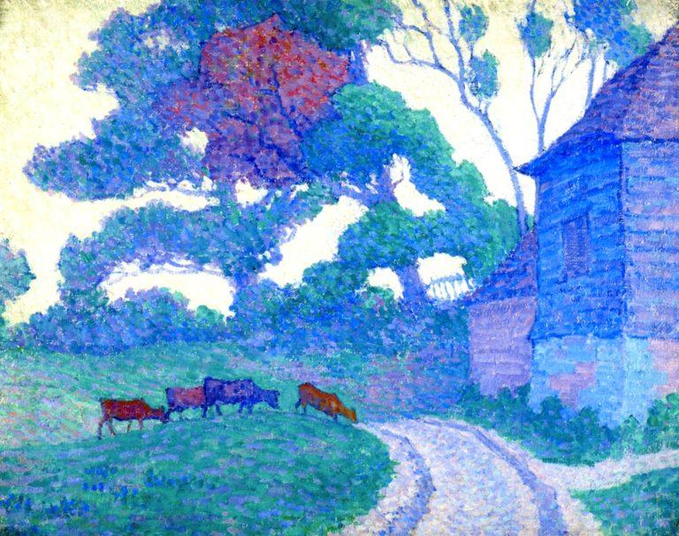 Gravelye Farm Cuckfield | Robert Bevan | oil painting