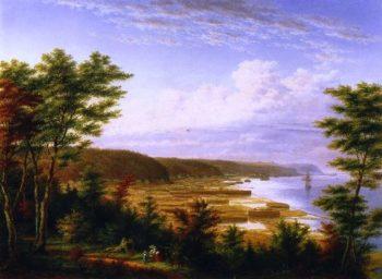 Sillery Cove Quebec | Cornelius Krieghoff | oil painting